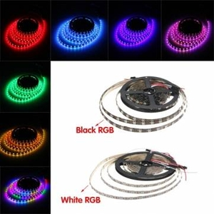 Lighting|Lamps & Lights|Accessories  - 4M 240LEDS WS2812B Non-Waterroof 5050 RGB  LED Strip Light Individual Addressable DC 5V