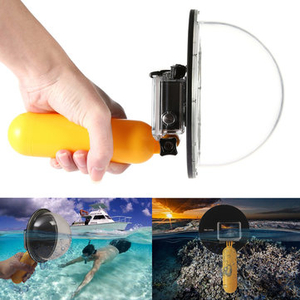 Camcorder Accessories|Nikon|Sony PlayStation 2  - 6 Inch Diving Underwater Sport Camera Lens Dome Port Cover Shell Float Grip For GoPro 3 Plus 3 4