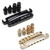 6 String LP Guitar Bridge Tailpiece With Mounting Stud Electric Guitar Parts