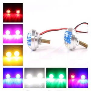 Clothing|Motorcycle Parts|Accessories  - 7 Color Motorcycle LED Driving Tail Decoration Light