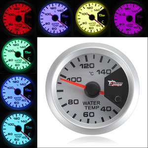 Car Electronics|Clothing  - 7 Colors 52mm Car LED Thermometer Water Temperature Meter Gauge