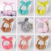 8 Colors Cute Women Girls Coral Fleece Rabbit Ear Earmuffs Earlap Warmer Headband Color Randomly