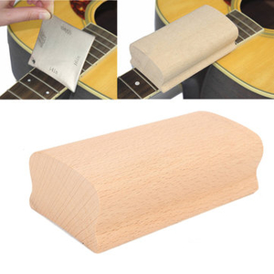 Electronic Toys|Instrument Accessories|Guitar accessories  - 9.5 Inch Radius Sanding Block Fret Leveling Fingerboard Luthier Tool For Guitar Bass