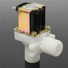 DC 12V Electric Solenoid Valve 1/2 Inch Hose Magnetic Water Air Inlet Flow Switch