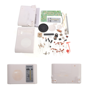 DIY CF210SP AM FM Radio Kit Electronic Assemble Kit For Electronic Learner