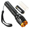 Elfeland XM-L T6 1600LM 5 Modes Zoomable LED Flashlight 1x18650