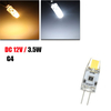 G4 1.5W Dimmable 0705 COB LED Capsule Bulb Replace Halogen Pure White/Warm White Light Lamp DC 12V
