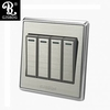 GJSBDG Wall Switch Panel Four 250V 10A - Four Switch Double Control
