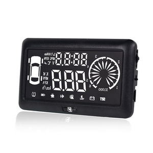 Car Alarms|Clothing  - I3 Car 4.0 inch HUD Driving Data Speedometer Speeding Warning System