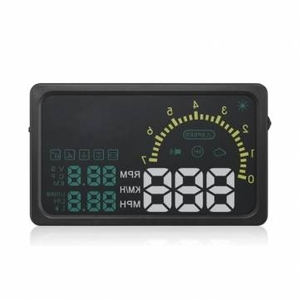 Car Alarms|Clothing  - I5 6 inch Car HUD Head Up Display OBDII Interface