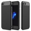 Jet Black Rock Vision Series Carbon Fiber Texture TPU PC Dual Layers Of Protection Case For iPhone 7