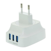 LDNIO DL-AC65 3 USB Port AC Adapter 5V 3.4A US EU UK Plug Wall Charger for Phone/Tablet