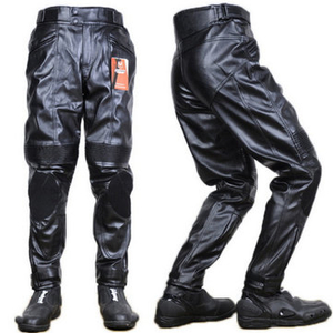 Men Motorcycle Racing PU Leather Pants Trousers For DUHAN DK-015