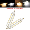 R7S 118MM Dimmable Corn Bulb 10W 152 SMD 4014 Pure White/Warm White Light Lamp AC 220V-240V