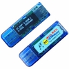 RD OLED USB3.0 4-bit Tester 3.7-13V Voltage 0-3A Current Power Capacity Detector Support QC2.0