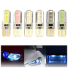 T10 2W COB Canbus LED Car Wedge License Side Interior Clear Bulb Light Soft Gel