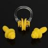 Waterproof Swimming Soft Silicone Nose Clip Ear Plugs Earplugs with Box