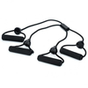 X Shape Rubber Body Building Training Pull Rope Exerciser