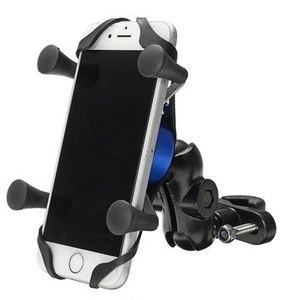 Clothing|Accessories  - X-type Phone GPS Aluminum Alloy Holder Handlebar Rearview Mirror Electric Scooters Motorcyle Bike