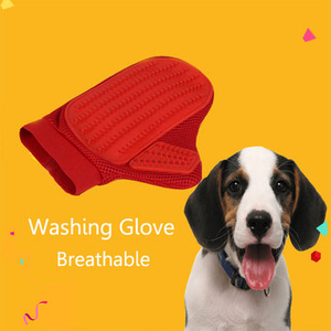 Grooming|Other Accessories|Transport & Safety|Accessories  - Yani HP-PG1 Pet Dog Wahing Hair Comb Cleaning Cat Brush Comb Hair Bathing Cleaning Glove
