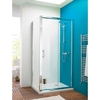 Premier Pacific 1000mm Sliding Shower Door - 6mm Thick