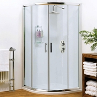 Premier Pacific 900mm x 900mm Quadrant Shower Enclosure – 6mm Thick