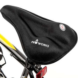 Joint Protection|Braces & Belts  - Proworks Bike Gel Seat Cover - Black