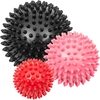 Proworks Spiky Massage Balls Deep Tissue Trigger Point Roller Set for Muscle Recovery,  Reflexology and Stress Relief - Set of 3