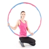 ProWorks Weighted Exercise Hula Hoop - Pink/Blue