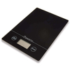 Savisto 5KG Electronic Digital Glass Platform Kitchen Scales in Black