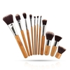 Savisto Premium 11 Piece Kabuki Wooden Synthetic Make Up Brush Set