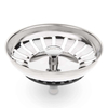 Savisto Premium Stainless Steel Kitchen Sink Strainer Waste Plug