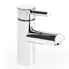 Savisto Round Lever Monobloc Basin Mixer With Push Waste