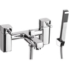 Savisto Square Bath Shower Mixer – Chrome