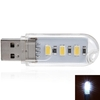 1/2/4 pcs 5V USB 2W 2-LED SMD 5630 LED Natural White Corn Bulb
