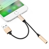 2 in 1 8 Pin to USB Charging and 3.5mm Earphone Jack Adapter Cable