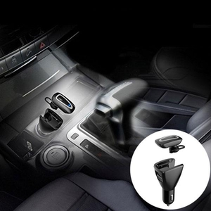 Accessories for Mobile Phones  - 2 in 1 Bluetooth Earphone Car Charger Adapter Earphones Earbud