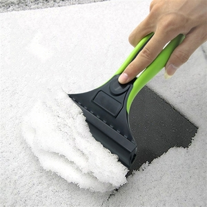 Car Accessories  - 2 in 1 Car Ice Water Scraper Snow Removal Hand Automotive Tool Snow Brush