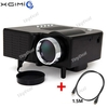 24W Multimedia LCD Image System LED Projector + HDMI Cable