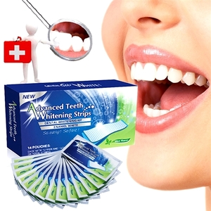 28Pcs Professional Teeth Whitening Strips Bleaching Tooth Dental Care