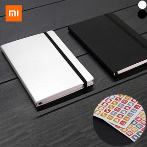 Accessories for Mobile Phones  - [3-Modes Pattern] Original XIAOMI Notebook with Sticker PU Leather