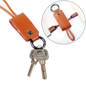 Accessories for Mobile Phones  - [3A Fast Charging] 2 in 1 Keychain & Cable Micro-USB Cable