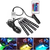 4 in 1 Remote Control Car LED Strip Light 7 Colors Car Interior Light