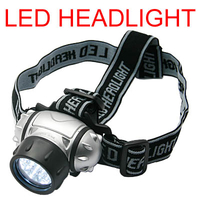 Accessories  - 4 Modes 19 LED Waterproof Headlamp Flashlight Torch