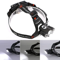 Accessories  - 4 Modes 2 In 1 Headlamp Waterproof IP65 LED 1T62R2 Headlamp