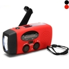 5 in 1 Flashlight/FM AM Radio/Power Bank/Solar Power/Hand Generator