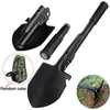 5 in 1 Mini Multi-function Folding Shovel Survival Pick Saw