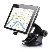 Car Navigation Systems  - 5 inch MTK Touch Screen Car GPS Navigator - BLACK