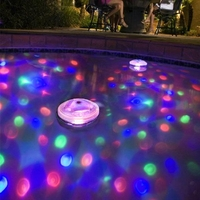 Outdoor Lighting  - 5 Light Modes Underwater Bathroom Light Show LED Floating Light