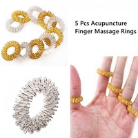 Other Massage Devices  - 5 Pcs Acupuncture Finger Health Care Massage Rings